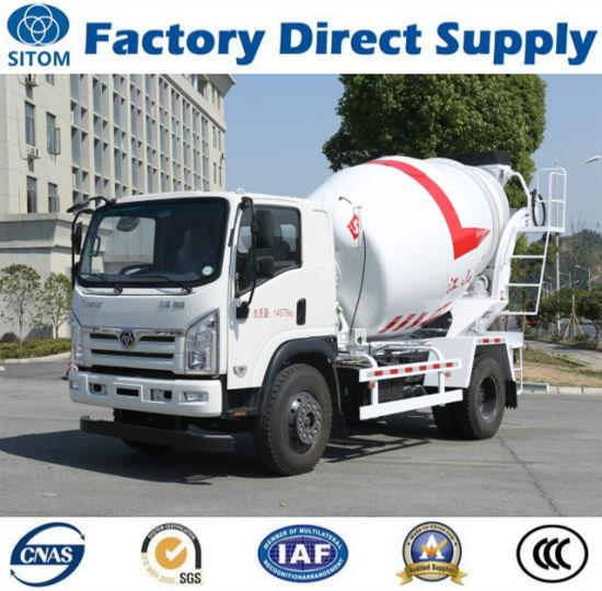 M00103 Sitom 4X2 Concrete Mixer Truck (non used mini HOWO FAW Sinotruk Isuzu Beiben foton pick up cargo dump tipper dumper tractor) with Best Price