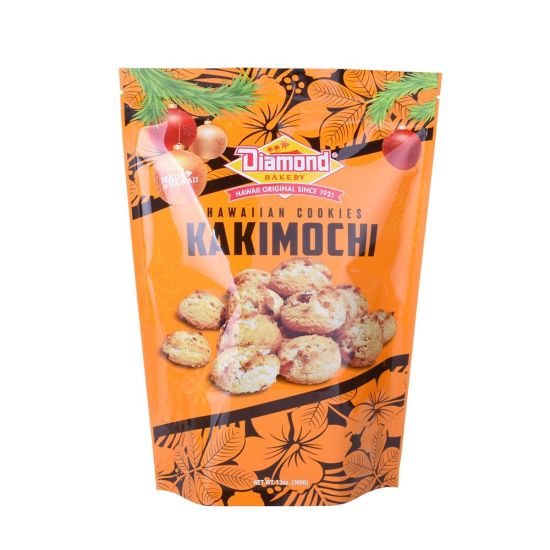 Custom Stand up Pouch Zipper Plastic Food Snack Nut Packaging Bag