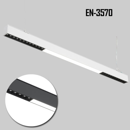 2019 New Product! 3570series up and Down LED Linear Light with Refector Cup or Microprism Lens pictures & photos