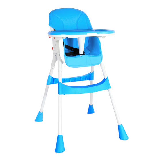 Kids Booster Seat with Tray for Baby Folding Portable High Chair for Eating, Camping,