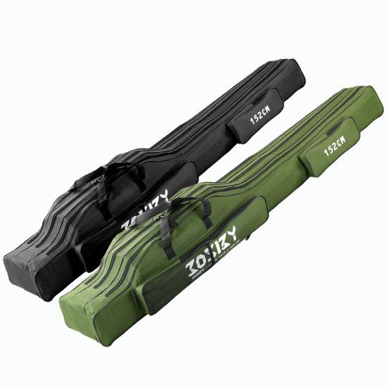 Portable Multifunctional Suitcase Pesca 60cm 122cm 152cm Foldable Storage Bag Oxford Cloth Fishing Bag