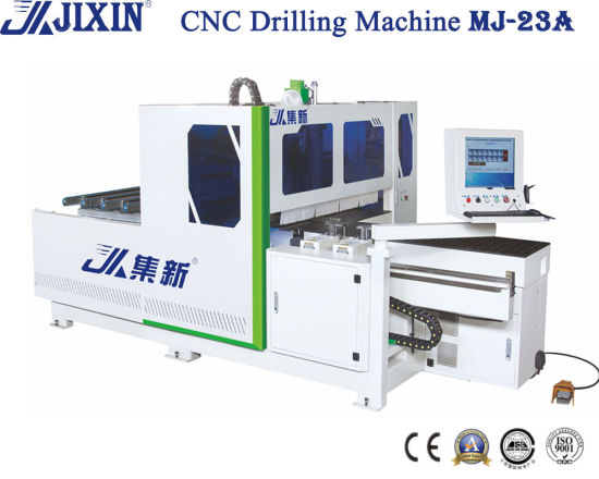Automatic Woodworking CNC 5-Sides Hole Drilling Boring and Milling Machine