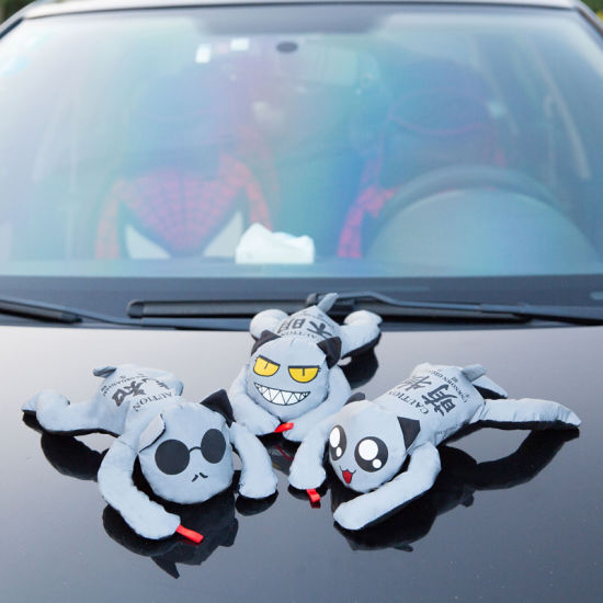Reflective 3D Doll Magnetic Car Sign of Chinese Manufacturer pictures & photos