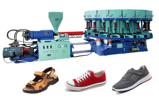 Second Hand Canvas Shoes Injection Moulding Machine Price
