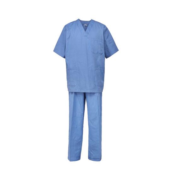 Customized Hospital Medical Scrubs Suit Uniform