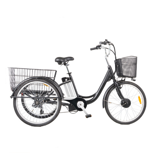 Aluminum Alloy Electric Tricycle for Adult for Sale with Three Wheels pictures & photos