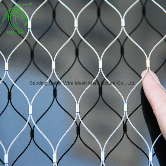 Flexible Stainless Steel Wire Mesh for Railing and Balustrade