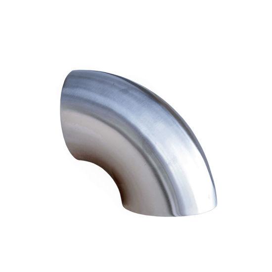 Ss 304 Hydraulic Elbow Water Supply 90 Deg Sr Pipe Fittings