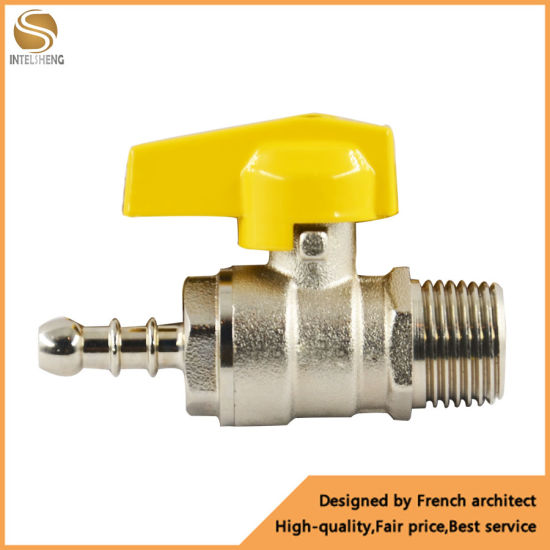"""1//2/"""" BSP Water Fuel Lever Type Ball Valve Female To Female Quarter Turn Flow New"""