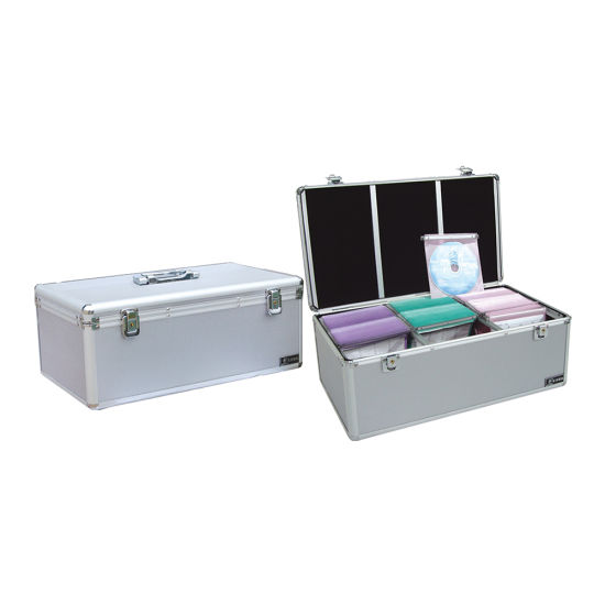 Multi-Function CD Aluminum Toolbox Suitcase Aluminum Toolbox for Storing Documents