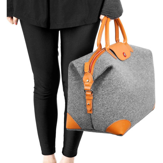 Customized Wholesale Packaging Packing Book Gift Toy Sundries Tool Felt Shopping Handbag Bag