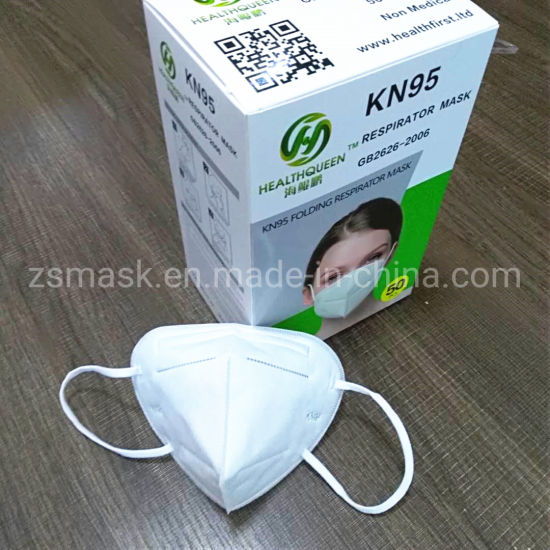 Melt-Blown Fabric Anti Dust and Keep Health KN95 Face Mask with FFP1 FFP2 N95