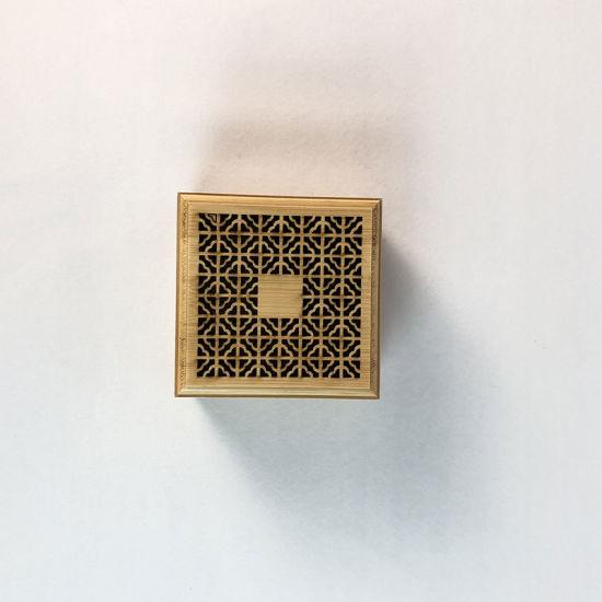 Wholesale Wood Handmade Craft Incense Stick Holder Inserted Wooden Incense Burner Box