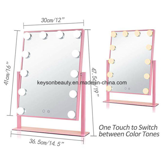 High End Hollywood Style Salon Makeup Vanity Mirror With Led Lights