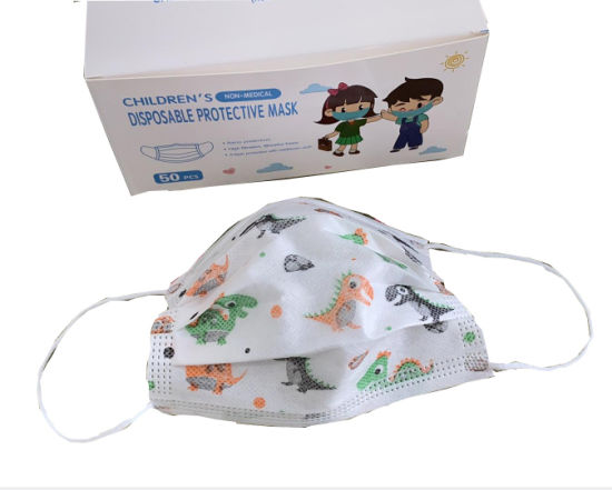 Hot Sale Disposable 3 Ply Non Woven Fabric Personal Protection Face Mask