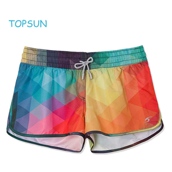 Women's Garments Sport Trouser Quick Dry Fabric Adult Swimming Shorts Water Pants