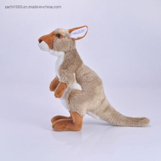 Custom Kids Toy Plush Stuffed Cute Kangaroo Gift