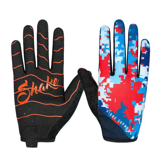 Full Finger Glove Motorcycle Racing Gloves Cycling Bicycle BMX MTB Bike Riding