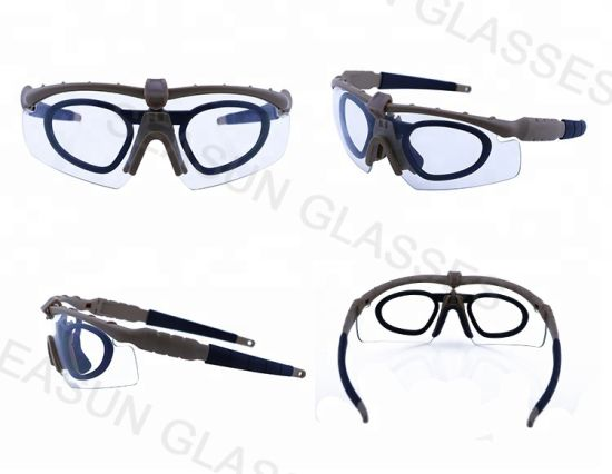 Wholesale Tactical Military Goggles Anti Scratches Eye Protect Sunglasses Plastic Shot Glasses