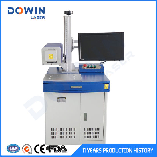 CO2 Laser Marking Plastic Cloth 30W 60W Optional Laser Engraving Machine pictures & photos