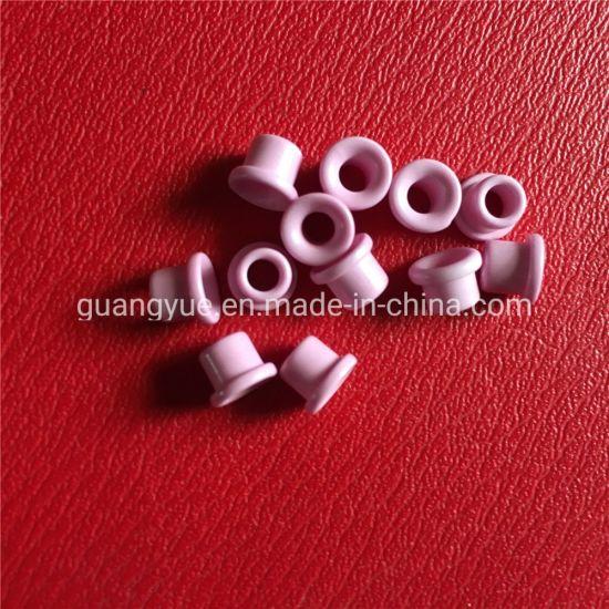 Industrial Ceramics Al2O3 Aluminium Oxide Textile Machine Guide Parts Ceramic Eyelets for Spinning Machine