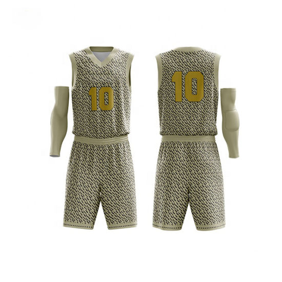 Custom Basketball Uniform Set Personalized Jersey Manufacturer