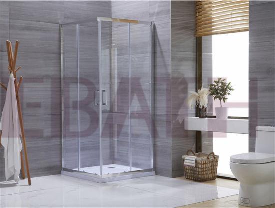 Bathroom Shower Enclosure: 6mm Tempered Glass Shower Enclosure