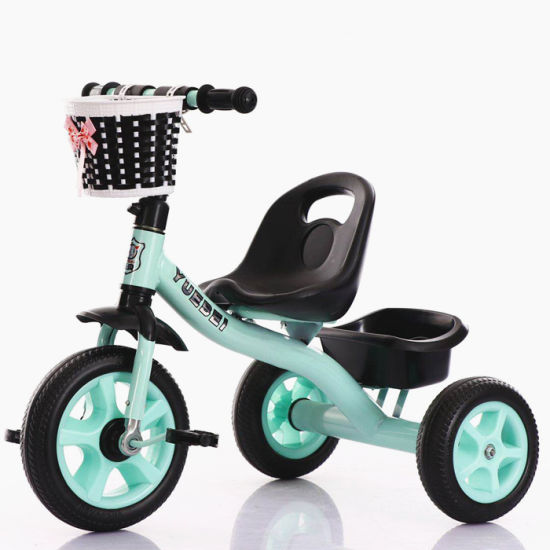 Manufacture High Quality Simple 3 Wheels Kids Tricycle Baby Trike