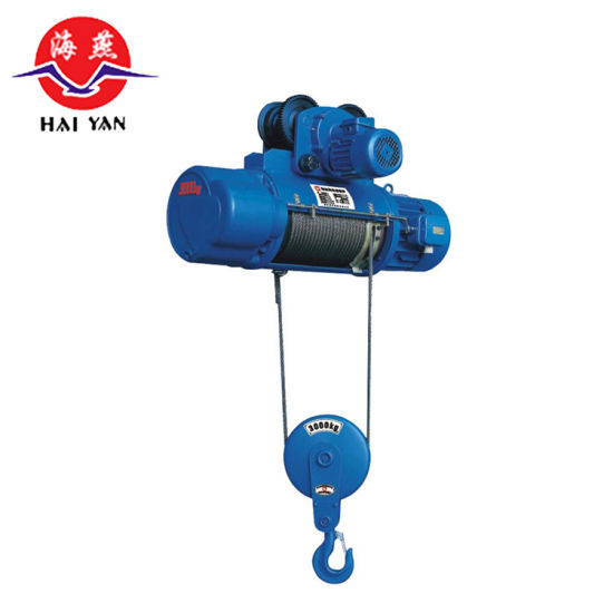 Supply Cargo Lifting Equipment 10t Electric Wire Rope Hoist