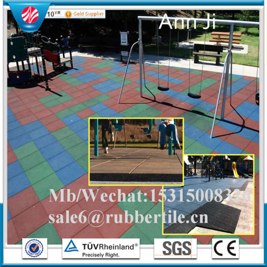 China Colorful Epdm Flooring Tiles Playground Rubber Flooring