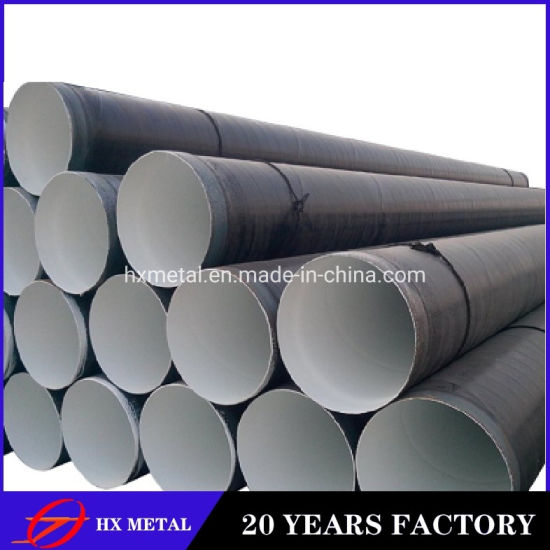 API 5L ERW//3PE Seamless/SSAW Fbe spiral Steel Pipe for Gas/Oil Transport Tube