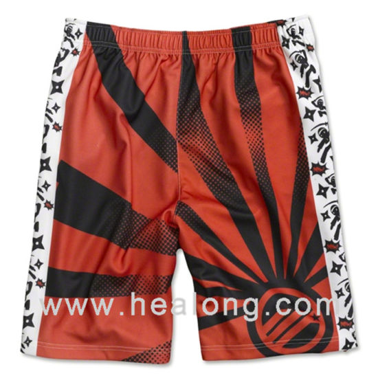 Knitted Digitally Printed Wholesale Any Sportswear Lacrosse Wear Shorts