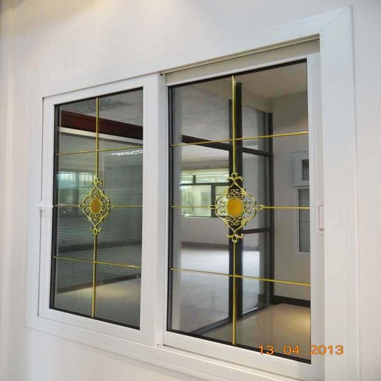 Vinyl PVC Tempered Glass Window for Balcony From Guangzhou Factory
