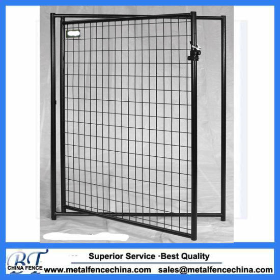 China Welded Wire Mesh Metal Dog Fence Panels - China Iron Cages ...