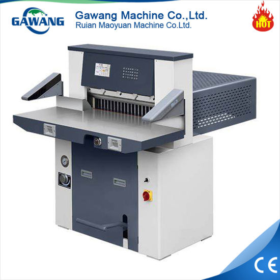 Gear Driving Paper Rolls Paper Sheet Cutting Machine