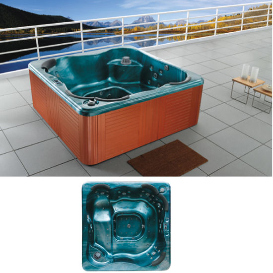 China Hydro Massage Bathtub Outdoor Whirlpool Jacuzzi Hot Tubs ...