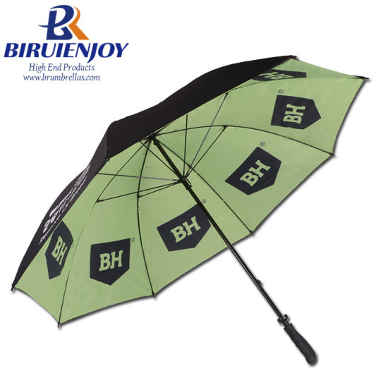 "Custom Double Canopy Golf Procella Umbrella with All Over Print 30"""