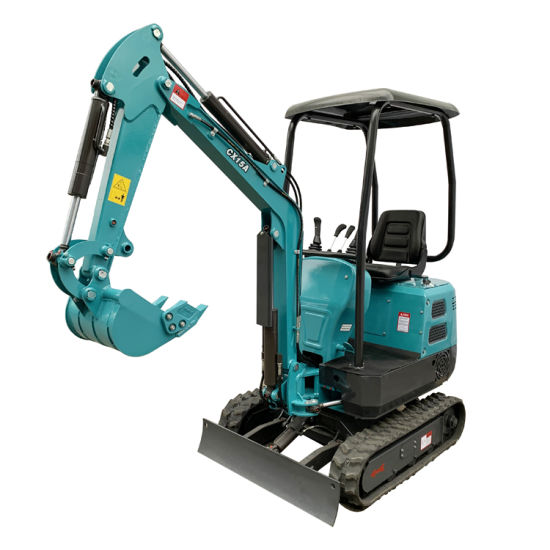 Construction Equipment 2t Small Crawler Excavator for Garden Home Use