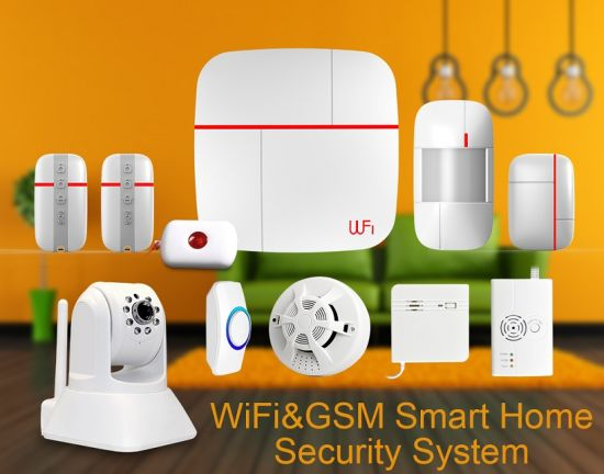 WiFi GSM Alarm System with HD Video Monitoring pictures & photos