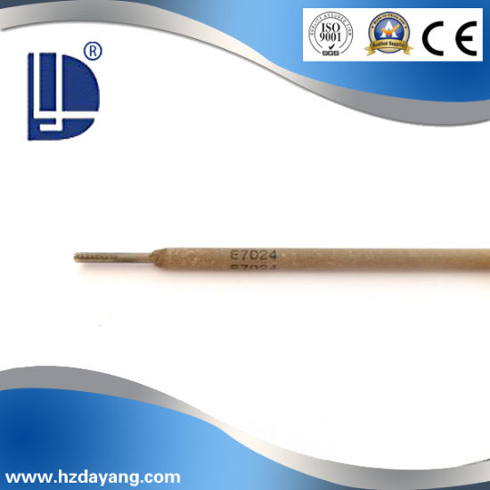 China Aws E7024 Middle Welding Steel Electrode with Ce and ISO9000 ...