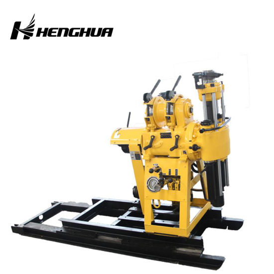 Man Portable Mobile Drilling Rig Crawler Geotechnical Drilling Rig Auger Bucket