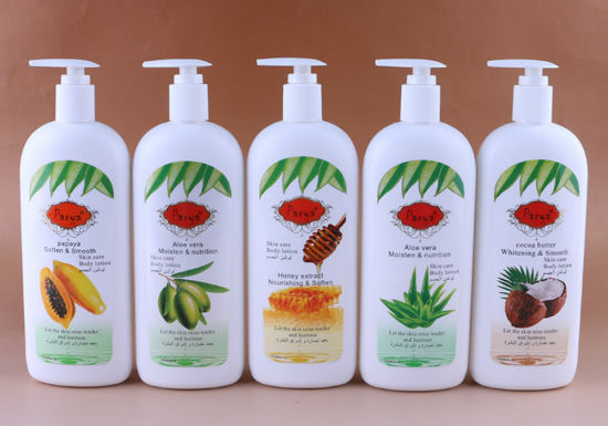 Parya 500ml Moisten&Nutrition Aloe/Olive/Honey/Papaya/Cocoa Extract Tender&Lustrous Skin Care Body Lotion