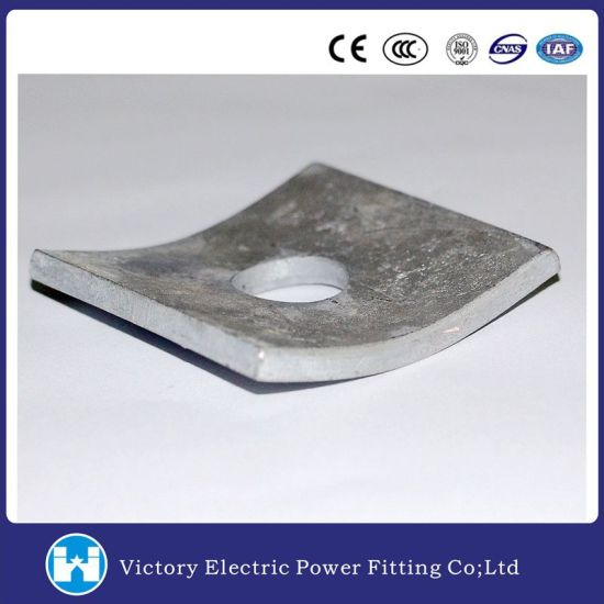 Galvanized Fastener Curved Square Washer  sc 1 st  Victory Electric Power Equipment Co. Ltd. & China Galvanized Fastener Curved Square Washer - China Square Washer ...