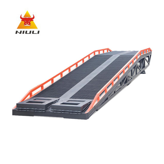New Design of Mobile Loading Ramp for Container