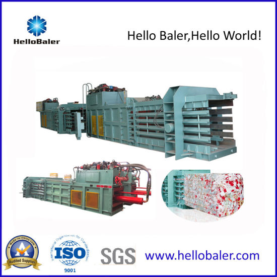 High Capacity Horizontal Carton Baler Press (HSA4-6) pictures & photos