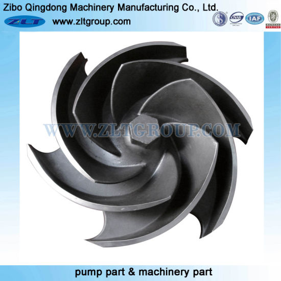 Precision Casting Chemical Process Oil Paper Industry ANSI Goulds 3196 Impeller Centrifugal Pump Parts
