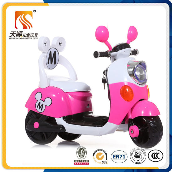 Popular Kids Electric Motor Bike with LED Light Wholesale pictures & photos