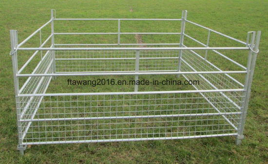 Galvanized Sheep Fencing Panel with Half Mesh Corral Fence