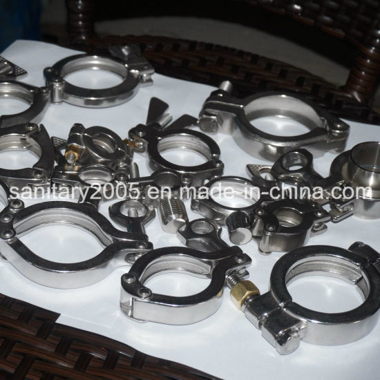 Stainless Steel Washer and Nut for Clamp
