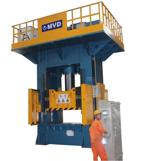 China Europe Standard 300 Ton H Frame Hydraulic Stretching